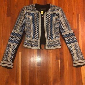 BCBG Max Azria embroidered jacket size xxs